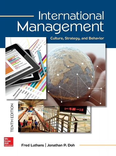 International Management Culture, Strategy, and Behavior (Irwin Management)