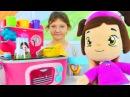 Play Doh игрушки для девочек. Плей до кухня. Игрушечная кухня