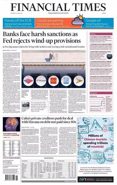 Financial Times Asia  April 14 2016