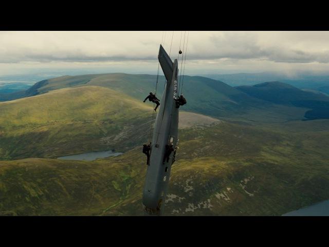 Бэйн Сцена с самолетом IMAX Темный рыцарь Возрождение легенды