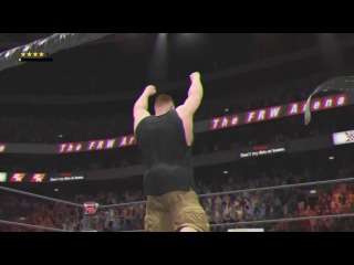 WWE 2K17 Glitch The belt chose me