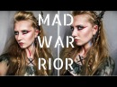 ☠ MAD WARRIOR W 30 SECONDS TO MARS ♂ inspiration (makeup, hair, paint)