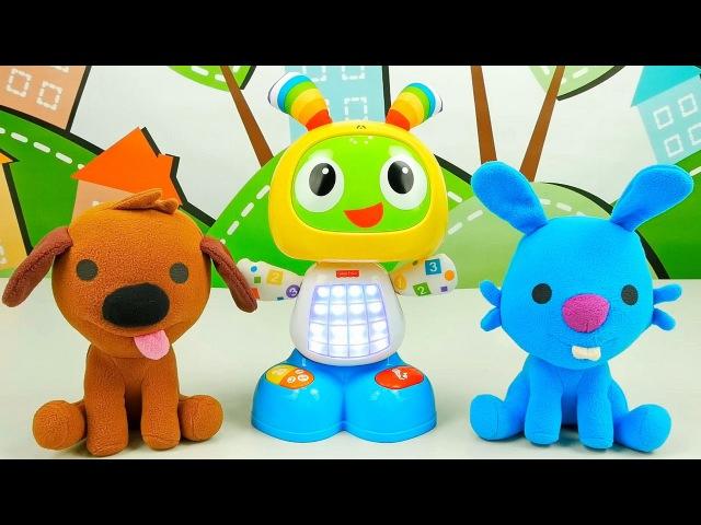 Носики Курносики • Саго Мини собачка Харви и кролик Джек - Знакомство с танцующим зайчиком БитБо