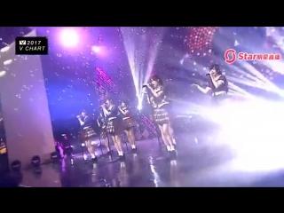 [Perf] AKB48 @ The 5th V Chart Awards [音悦V榜年度盛典] [8 April 2017]