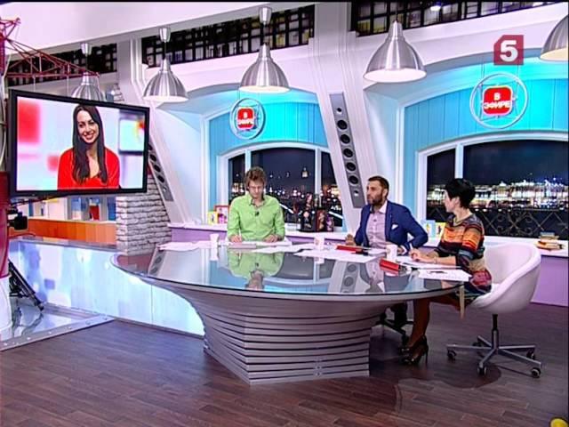 Анжелика Каширина в программе Утро на 5 8 12 2014