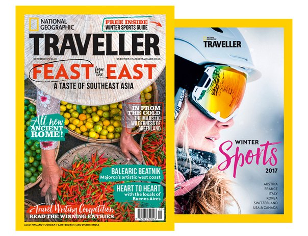 National Geographic Traveller UK Winter Sports 2017