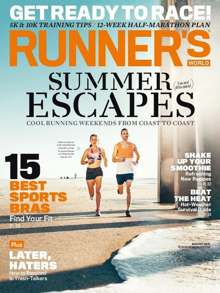 Runners World USA August 2017