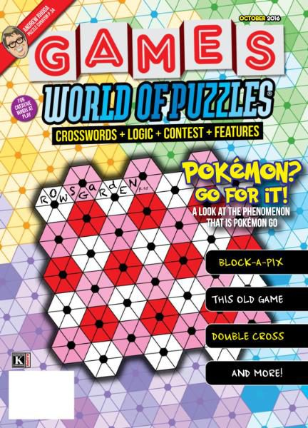 Games World of Puzzles - October 2016