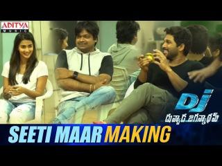 Seeti Maar Song Making    DJ Song Promos    Allu Arjun, Pooja Hegde, Harish Shankar    DSP