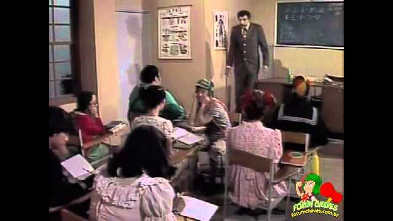 Chaves A escolinha do Professor Girafales 1978 audiodescrição