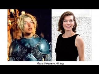 Как голливудские актрисы выглядели в 90 х и как они выглядят сейчас