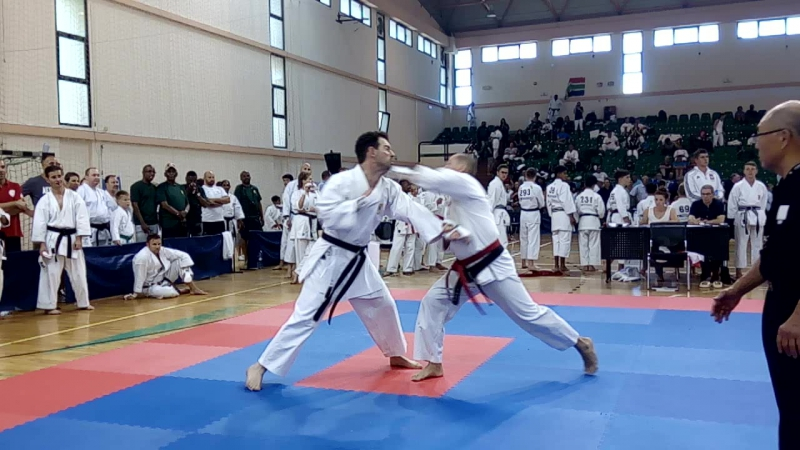 Кумитэ Ряузов - ЮАР 4 круг катег 40-49 Мальта 2017