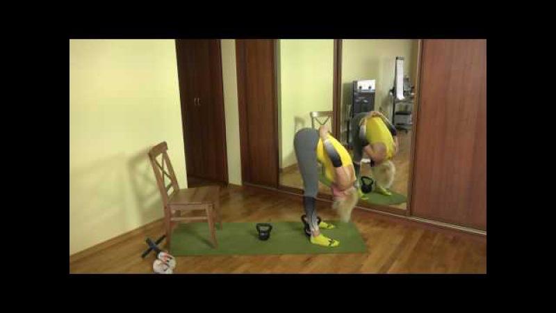 Сурья намаскар от стула 8 кг Лучший силовой стретчинг и йога ТОП100MOClub