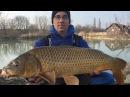 Téli horgászat a Vadas horgásztavon