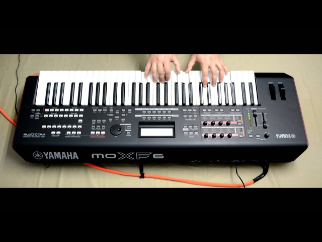 YAMAHA MOXF6 vs ROLAND FA06 JAMMING PT 2 Synthcloud