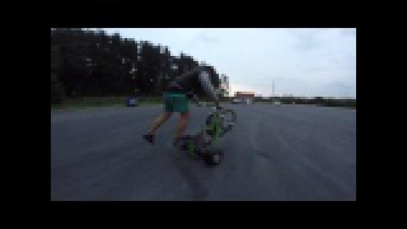 Motorized Drift Trike Edit Pavel Dolenko and Pavel Voytov