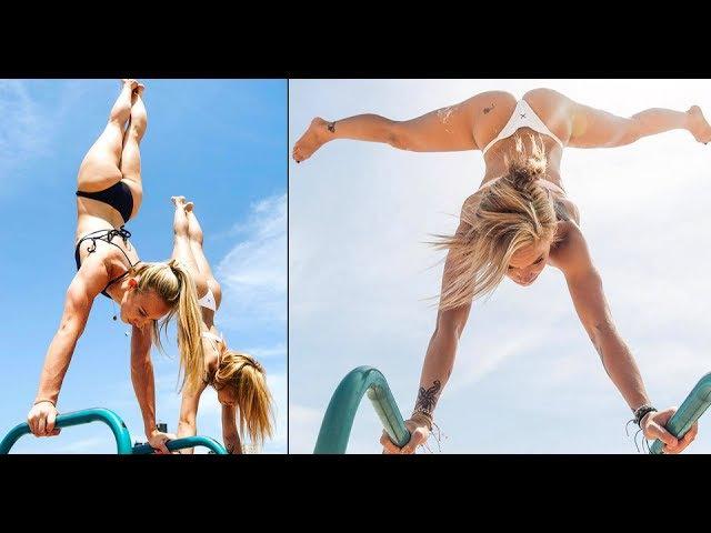 CALISTHENICS GIRLS! best Workout Summer