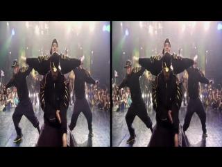 Dansin  - 3d sbs music-sizzle video vr stereoscopic google cardboard in real 3d