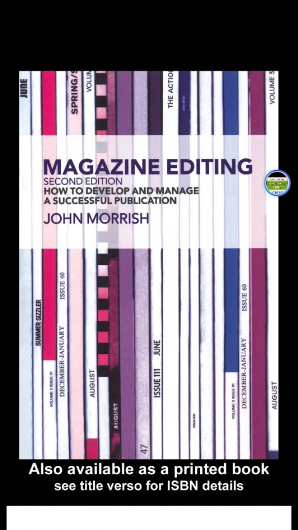 Magazine Editing How to Develop an