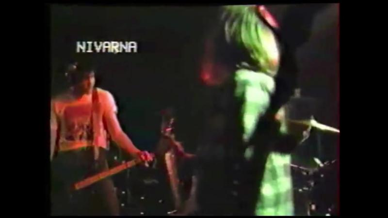 Nirvana (live concert) - December 1st, 1989, Fahrenheit, MJC Espace Icare, Moulineaux, France