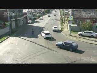 Дтп на ул. 2-я линия и ул. алма-атинской.
