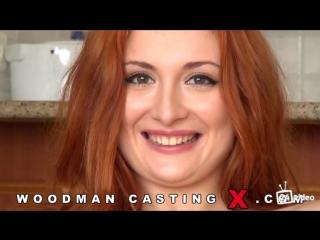 Eva Berger - жёсткий групповой трах с двойным проникновением на кастинге у Вудмана