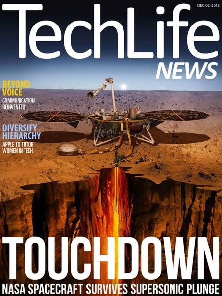 Book cover 2018-12-02 Techlife News