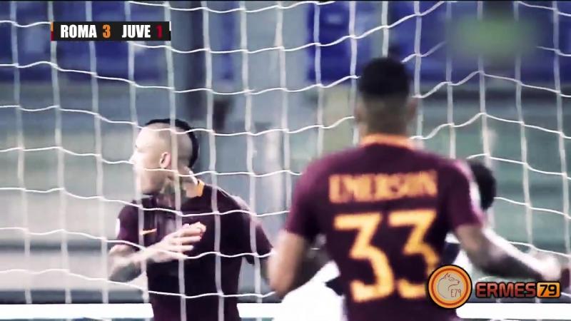 La clip della bellissima vittoria della Roma contro la Juve! RomaJuve 3-1 dajeromadaje NotInMyHouse