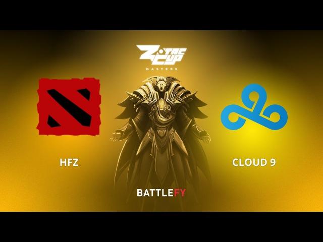 HFZ vs Cloud 9, Game 2, Zotac Cup Masters, EU Qualifier