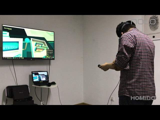 NOLO HOMiDO VR 2 to play SteamVR Games