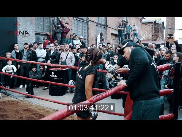 MMA in dirt Врачиха избила медсестру на глазах у всех