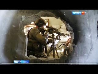 Cнайпера СпН ВС РФ в Сирии