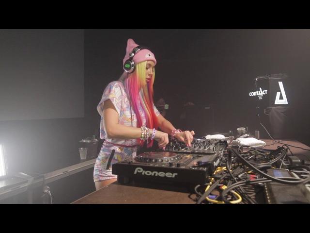 Marika Rossa closing set at Contact Festival Munich in Zenith hallen Germany