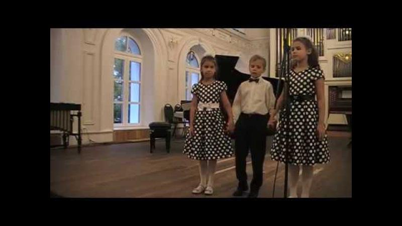 Ансамбль 6 рук (Grand piano, Trio 6 hands) Концерт 18 09 2016 Нижегородская консерватория им. Глинки