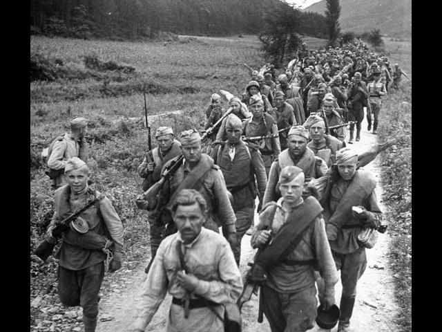 Песня о войне Полынок Военная хроника Левитан объявление ТАСС