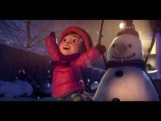 Лили и Снеговик   трогательный профессиональный мультик с доброй историей