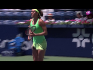 2017 Abierto GNP Semifinal   Anastasia Pavlyuchenkova v Caroline Garcia   WTA Highlights