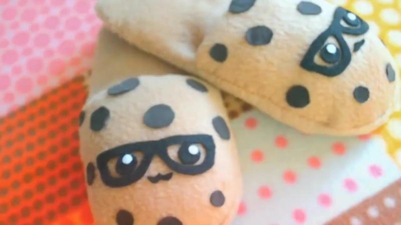 Тапочки-печеньки своими руками