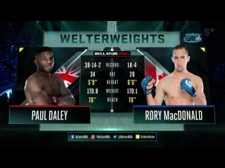 Rory macdonald vs. paul daley | [ vk.com/best_of_mma ]