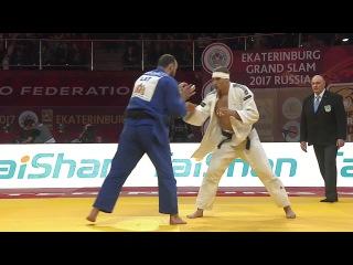 GS Ekaterinburg 2017, 100 kg, bronze medal contest, Jevgenijs Borodavko(LAT)-Laurin Boehler(AUT)