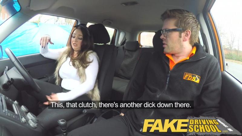 FAKE DRIVING SCHOOL BUSTY JAILBIRD TAKES INSTRUCTOR ON A WILD RIDE HD, star, pov, big tits, big ass, new porn