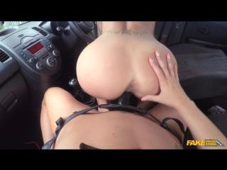 Chantelle fox & jasmine jae (strap on fun for new driver )[2017, lesbians, all sex, dildo, sex in car, pornstars, hd 1080p]