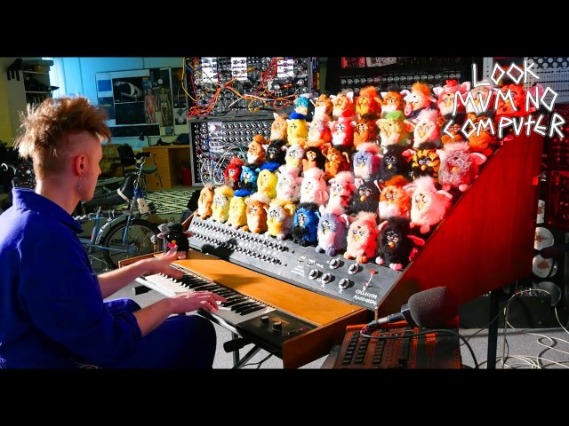 THE FURBY ORGAN A MUSICAL INSTRUMENT MADE FROM FURBIES