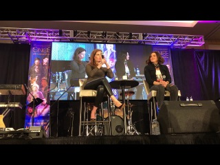 Lana Parrilla and Rebecca Mader OUAT Vancouver 2018 Gold Panel Part 2