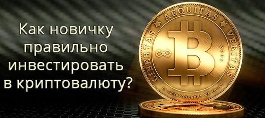 Как правильно инвестировать в криптовалюту как взять потребительский кредит в сбербанке россии