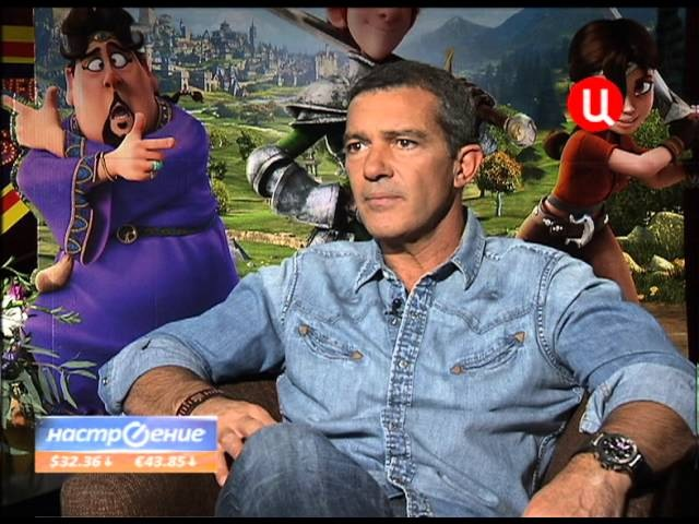 Interview with Antonio Banderas Интервью с Антонио Бандерасом