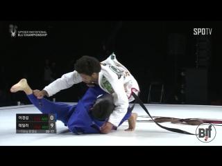 Spyder invitational finals  1st match-76kg kyungsub lee vs shane hil-taylor