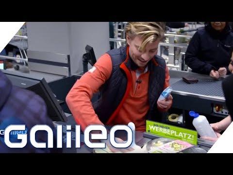 Der harte Jobs eines Kassierers Galileo ProSieben