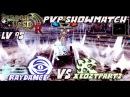 Dragon Nest INA - Lv 95 PvP Showmatch Windwalker (Xeozpart2) vs Spirit Dancer (RayDance)
