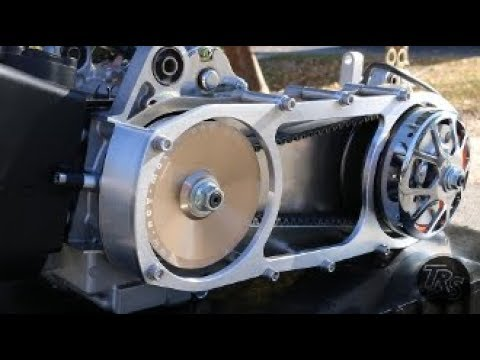 TRS ULTIMATE GY6 CVT INSTALL